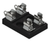 3AG-Dual Fuse Holder-Molded Base -- 3524