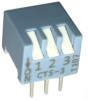 DIP Switches -- 194-3MSN-ND - Image