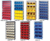 Giant Open Hopper Bin Storage System -- HQSBU-245-R -Image