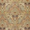 Elegant Paisley Frame Fabric -- K-Paulina -- View Larger Image