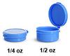 Plastic Vials -- 0801-28
