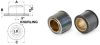 Self-Clinching Press-Fit Sleeve Bearings (inch) -- A 7Z61-FSDU250 -Image