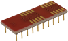 Sockets for ICs, Transistors - Adapters -- A752-ND
