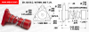 Anti-Backlash Flanged Supernuts® (inch) -- AB24FT-31084AB -Image