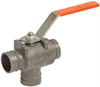 Three Port Diverter Ball Valve -- Series 723 -- View Larger Image