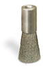 """Round Brush 5/8"""" Stainless Steel, 1/8"""" Female NPT Inlet -- B536-17 -- View Larger Image"""