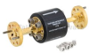 WR-12 Waveguide Isolator with 25 dB min Isolation from 60 GHz to 90 GHz using Round Cover UG-387/U Flange -- FMWIR1001 -- View Larger Image