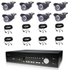 8 Infrared Camera Package with DVR