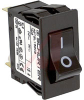 Circuit Breaker; 15 A; 125/250 VAC; Quick-Connect; 1.5 kV (Min.); Black -- 70160357