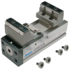 5-axis Fixed Jaw Vise Interchangeable Inserts -- 80900