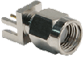 RP-SMA Female Bulkhead Front Mount Cable End Crimp w/ O-Ring -- CONREVSMA013.062 -- View Larger Image