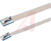 CABLE TIE, STAINLESS STEEL,5 INCH LG,100 LBS -- 70208814