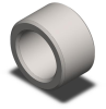 13 mm Standard Liner Bushing - .500 in Plate -- MPAL-20014
