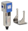 Pneumatic / Compressed Air Filter: 3/8 inch NPT female ports -- AF-333 - Image