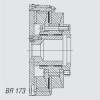 Kuesel Universal Joint Shaft Coupling -- BR 173
