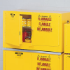 JUSTRITE Sure-Grip EX Piggyback Flam. Liq. Safety Cabinets -- 4663700