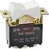 Switch, Rocker/Paddle, DPDT, 30 Amp, ON-OFF-ON -- 70192260 - Image