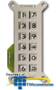 Ceeco Veritcal Large Number Key Pad -- 306-103 -- View Larger Image
