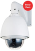 WDR High Speed Dome, 1/4 inch Progressive Scan CCD, 530 TV Line, 30x Optical, 12X Digital Zoom