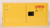 Eagle 15 gal Yellow Hazardous Material Storage Cabinet - 43 in Width - 22 1/4 in Height - Bench Top - 048441-33181 -- 048441-33181 - Image
