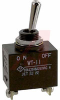 Switch, Toggle, SPST, ON-NONE-OFF, Screw Lug Termination -- 70192274
