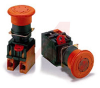 SWITCH,EMERGENCY STOP, NON-LIGHTED, PUSH-PULL, 40 DIA. HEAD,2NC CONTACTS -- 70033777