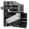 MICRO SWITCH AC Series Door Switch, Single Pole Double Throw Circuitry, 5 A at 250 Vac, Rod Actuator, Silver Contacts, Quick Connect Termination -- 23AC81