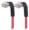 Category 5E Shielded Right Angle Patch Cable, Right Angle Up/Right Angle Up, Red 30.0 ft -- TRD815SRA5RD-30 -Image