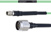 Temperature Conditioned Low Loss SMA Male to N Male Cable LL160 Coax in 48 Inch -- FMHR0186-48 -Image