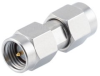 SMA Male to SMA Male Adapter with Passivated Stainless Steel Body -- FMAD1245