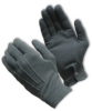 Gray Dress Glove, Snap Wrist Closure, Large -- 616314-10767