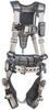 DBI-SALA ExoFit STRATA Grey, Blue Small Vest-Style Shoulder, Back, Leg Padding Body Harness - Polyester Webbing - 840779-10989 -- 840779-10989