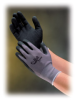 G-Tek(R) MaxiFlex(TM), Black Micro-Foam Nitrile Coated Palm & Finger Tips, Gray Seamless Knit Nylon Liner, Medium -- 616314-17964