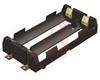 Lithium-Ion Battery Holder, 2 Cell, Plastic UL 94V-O, SMT -- 70182390