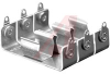 Battery Holder; AA; 0.531/0.565 in. O.D; Aluminum; Screw Mount; 3; Eyelet -- 70182567 - Image