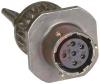 CONNECTOR,CABLE RECEPTACLE W/CABLE CLAMP,CLASS A,SIZE 10,6#20 SOLDER SOCKET CONT -- 70010699