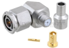 RA TNC Male Connector Clamp/Solder Attachment For LL160 Cable -- FMCN1470 -Image