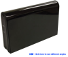 "3.5"" Metal Glossy USB 2.0 External Enclosure -- EEA321"