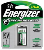 ENERGIZER RECHARGEABLE BATTERY 9 VOLT -- IBI455693 - Image