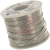 Braid, Flat; 1/4 in. W; 32 A (Bare cable); Tinned Copper -- 70140424
