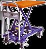 Mobile, Manual Lift Table -- Dandy Lift Series
