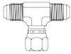 JIC Threads 37° Flared Fittings To NPTF & NPSF Thread Forms -- 6911