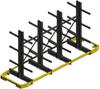 Very Narrow Aisle (VNA) Cantilever Racking - Image