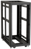 "24U Elite Server Cabinet 48""H x 30""W x 32""D 10-32 Rails -- EC24U3032TPMSSNK -- View Larger Image"