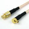 MCX Plug to RA MMCX Plug Cable RG-316 Coax in 72 Inch -- FMC0719315-72 -Image