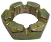 Hex Jam Locknut,Slotted,1 1/8 -7,PK 5 -- 6YRL0 - Image