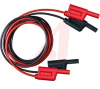 STACKABLE SAFETY PATCH CORD, RED, 1.2M -- 70062291 - Image