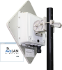 5.8 GHz Outdoor 100 Mbps Wireless Ethernet Panel Subscriber Unit -- AW58100HTS - Image