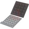 Keypad, 16 Key Format, Black -- 70102238