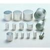 ALU Caps Aluminium 28 x 30mm High 100pk -- 4AJ-9230831
